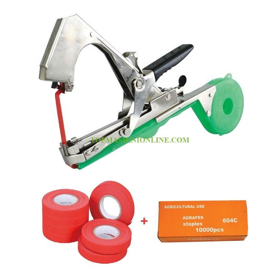 Комплект клещи за връзване на лозя Premium 1310BZ-1 50 мм + Лента за клещи за връзване 30 м + Телчета за клещи за връзване 10 000 бр. image