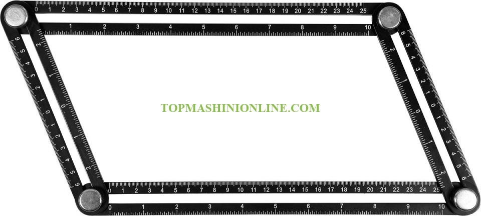Алуминиев пантограф Yato YT-70880 250x120 мм image