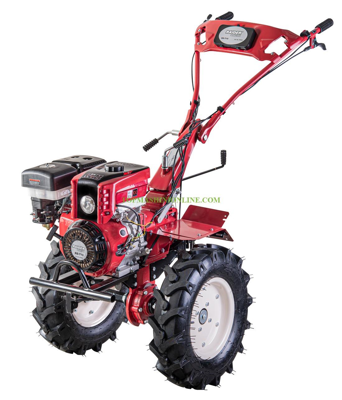 Бензинова мотофреза Raider RD-T10 9.7 kW, 389 см³, 13.0 HP, 1400 мм, с инвентар, 2 предна и 1 задна скорост, 076905 image