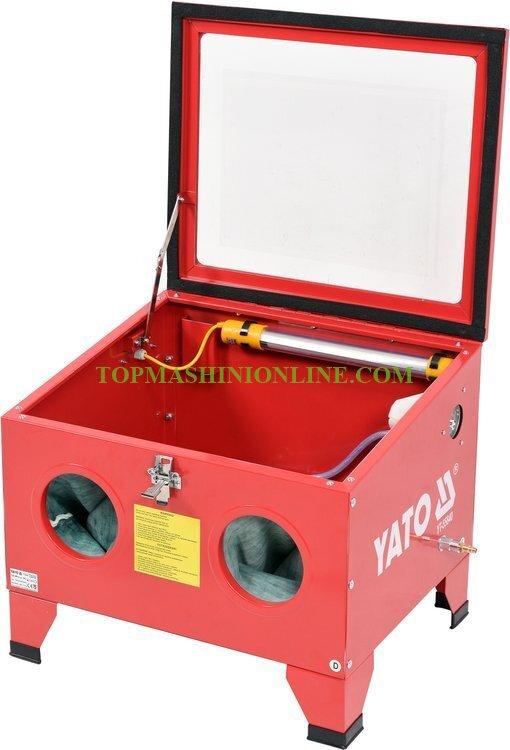 Пясъкоструйка Yato YT-55840 90 литра, 0.27-0.82 MPa, 424-707 л/мин image