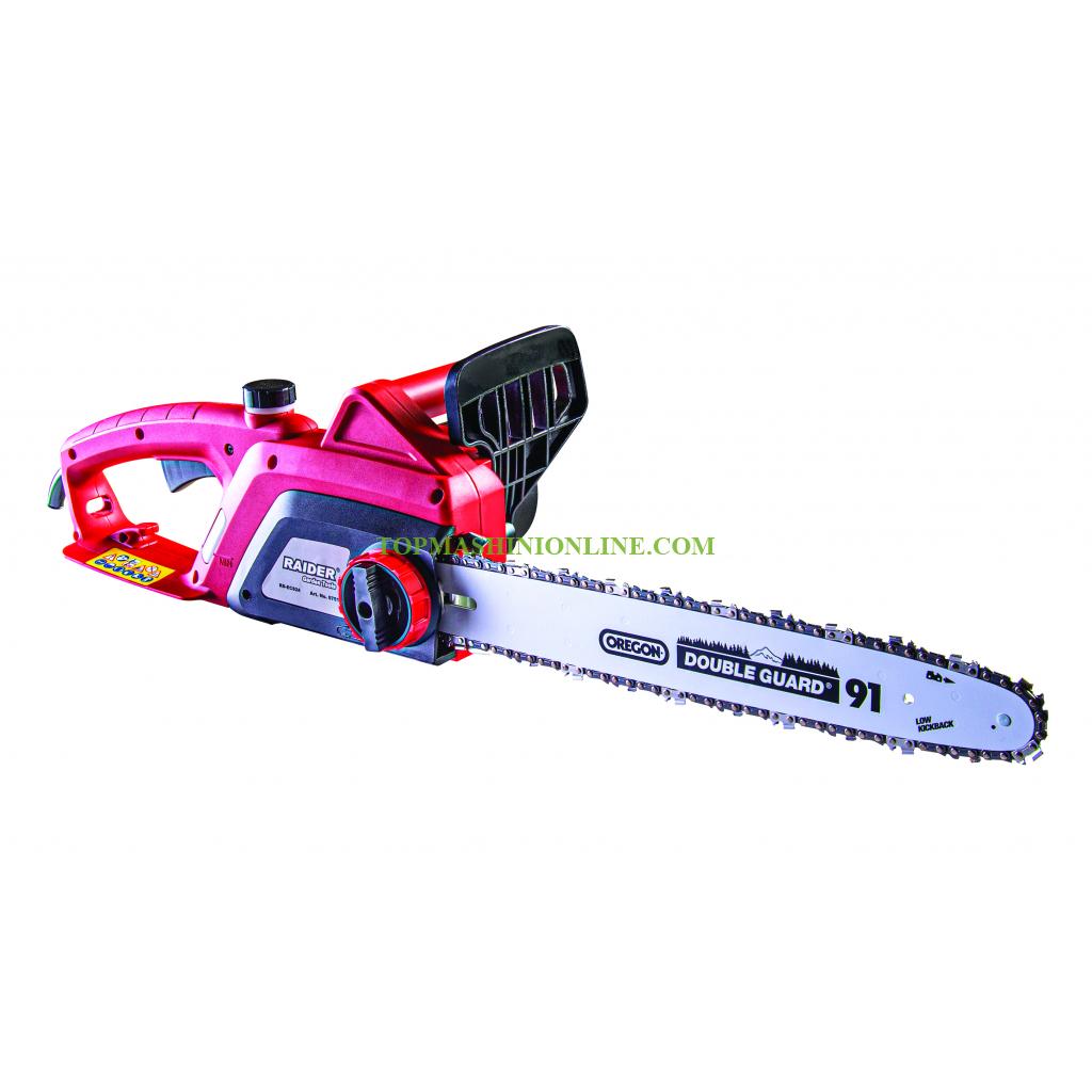 """Електрическа резачка за дърва Raider RD-ECS24 системата SDS, 400 мм (16""""), 2.4 kW, 3/8"""", .050"""" (1.3 мм), 57 водача, 075118 image"""