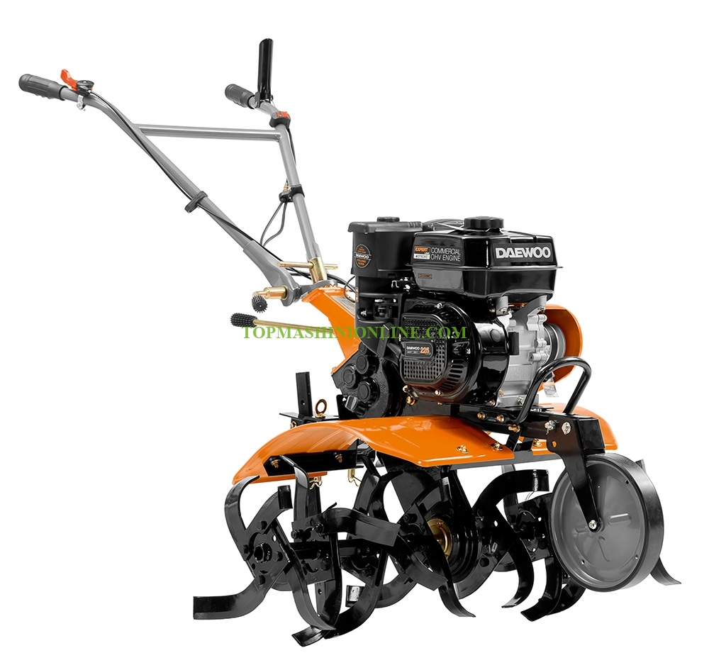 Бензинова мотофреза Daewoo DATM80110 7.0 HP, 212 см³, 750-1100 мм image