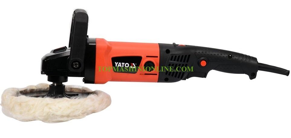 Полирмашина в куфар Yato YT-82195 1200 W, 600-3000 мин-¹, Ø 180 мм image