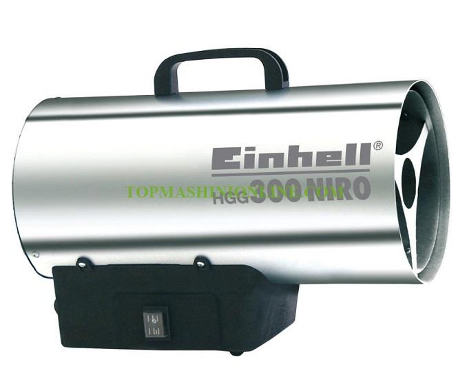 Газов калорифер Einhell HGG 300 Niro 30 KW, 500 м³/ч, 2330910 image