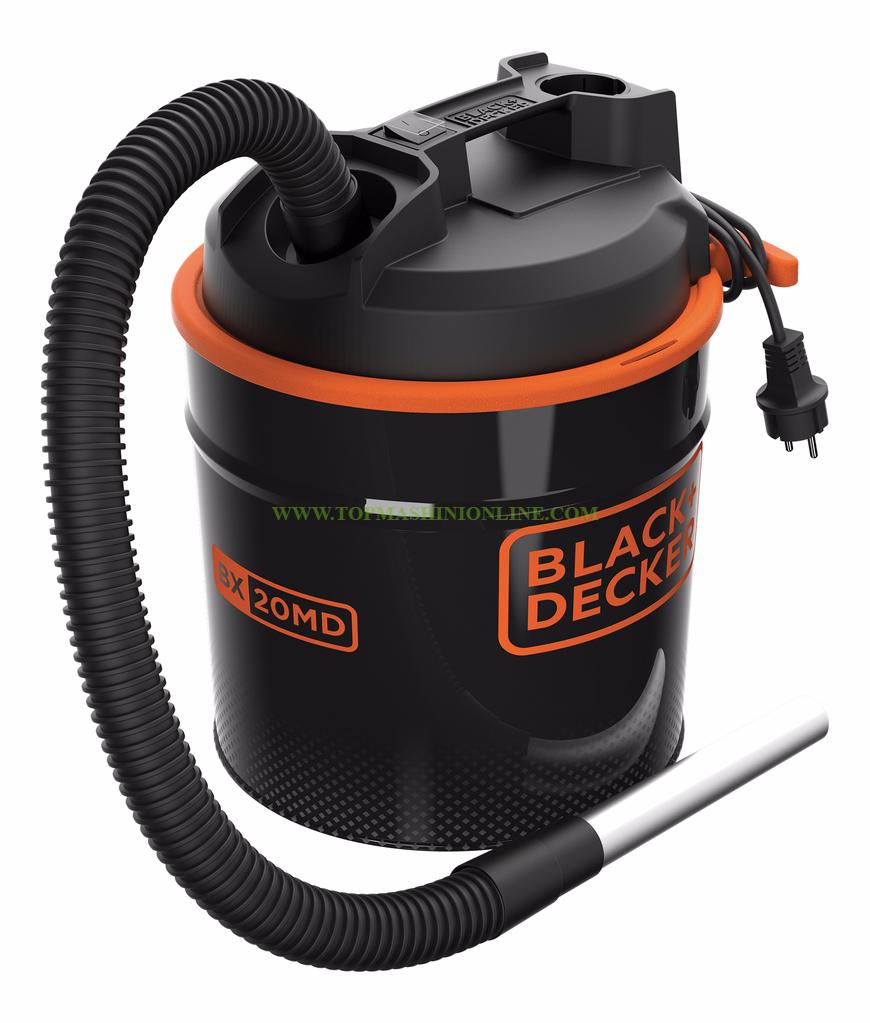 Прахосмукачка за пепел Black&Decker BXVC20MDE 900 W, 18 л. , 28 л/сек image