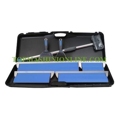 Комплект ножове и шпакли за шпакловане Knauf 639123 в куфар с телескопична дръжка 1 м image