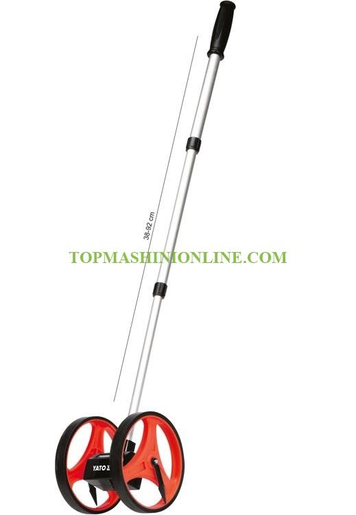 Измервателно колело Yato YT-71650 0.1-9999.99 м, Ø 160 мм image