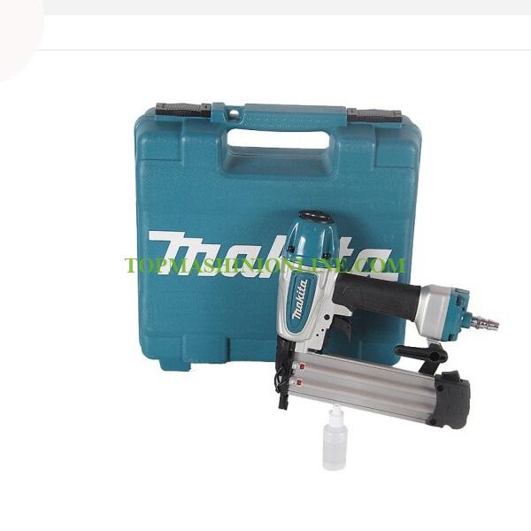 Пневматичен такер Makita AF506 за пирони 15-50 мм, 18GA, 4.9 - 8.3 bar, в куфар image