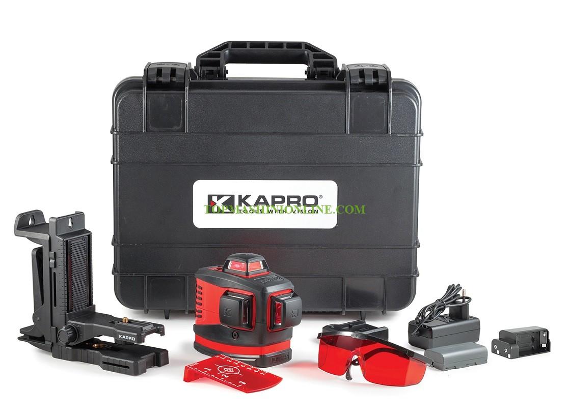 Линеен лазерен нивелир Kapro 883N Prolaser 3D All-Lines 30 м, 0.2 мм/ 1 м, 3 лъча на 360° image