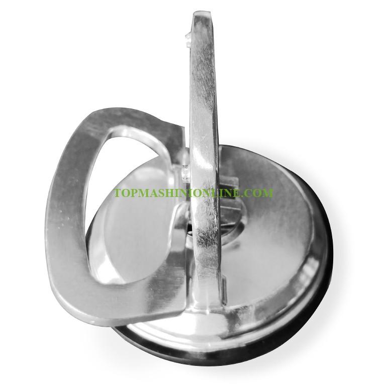 Единична алуминиева вендуза за стъкло и плоскости Edma 250155 Ø 120 мм, 50 кг image