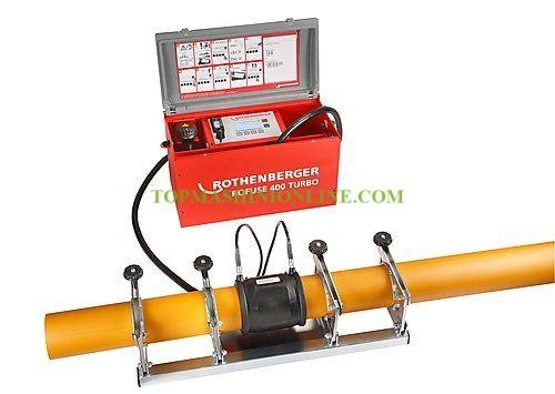 Машина за заваряване на канализационни тръби с електромуфи Rothenberger ROFUSE 400 Turbo 3000 W, Ø 30-400 мм, 1000000999 image