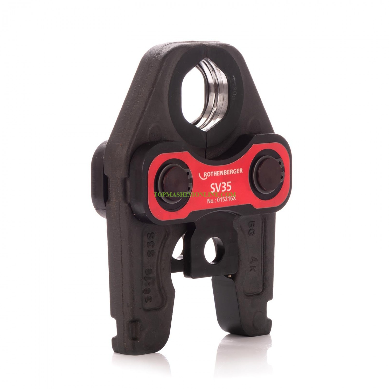 Клещи за пресфитинги за пресконтур V Ø 35 мм Rothenberger Standard SV 35 015216X image