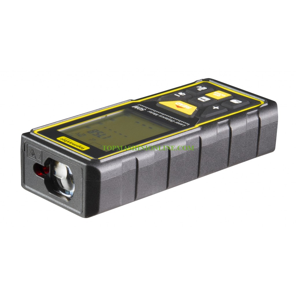 Лазерна ролетка Topmaster 261404 50 м, +/-2 мм с LCD дисплей image