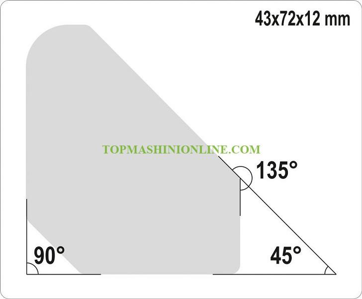Комплект мини магнитни ъгли за заваряване Yato YT-08677 4 броя, 4.5 кг, 45° - 90° - 135° image