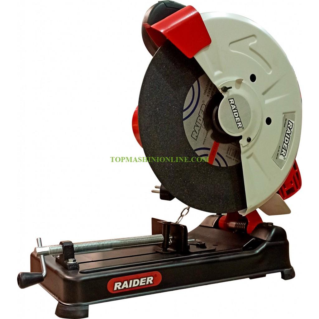 Настолна отрезна машина за метал Raider RD-CM08 2400 W, Ø 355 мм image
