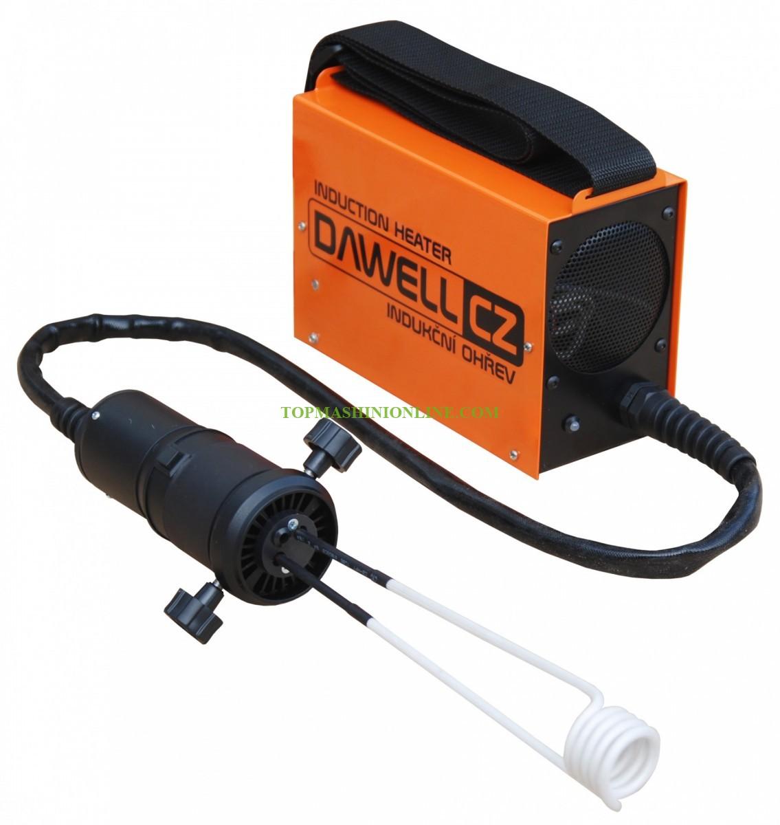 Индукционен нагревател за метални детайли в куфар Dawell DHI-15 1500 W, 800°C image