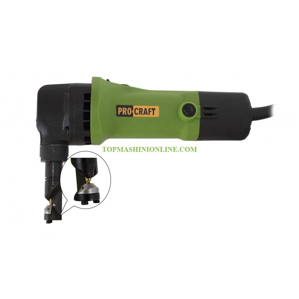 Електрическа ножица за ламарина - нагер Procraft FT SM1.6 500 W, 1.2 мм-2.5 мм image