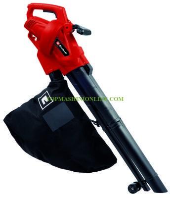 Електрически листосъбирач-въздуходувка 2в1 Einhell GC-EL 3024 E 3000 W, 40 л, 240 км/ч, 3433370 image