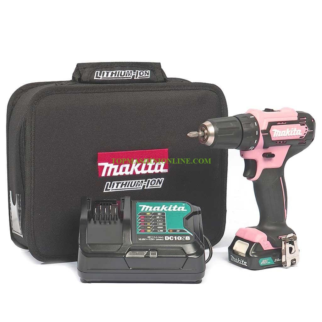 Акумулаторен винтоверт Makita DF333DSAP1 12 V, 2 Ah Li-ion, 30 Nm, с батерия и зарядно устройство image