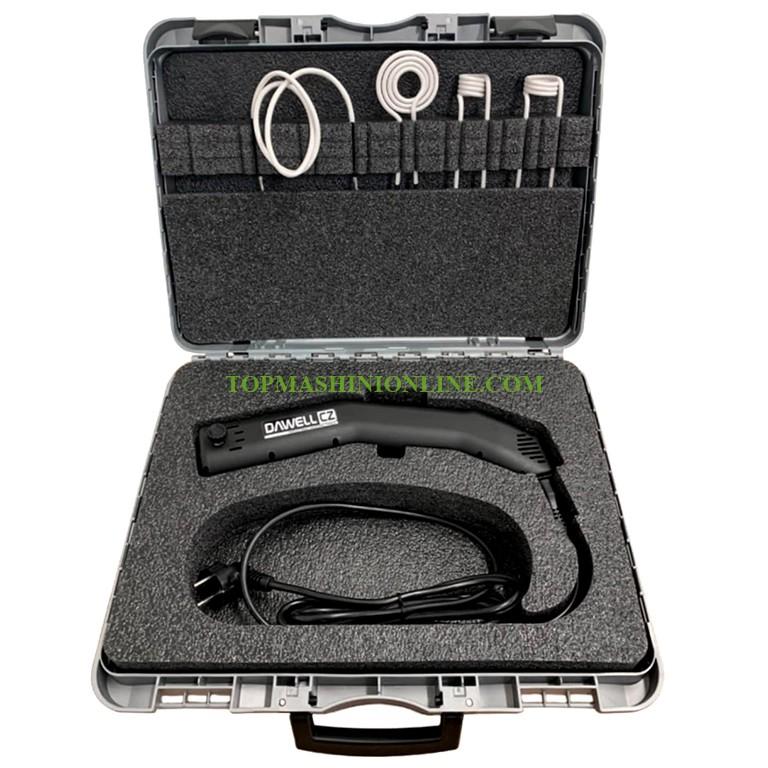 Индукционен нагревател за метални детайли в куфар Dawell DCI-12 1200 W image