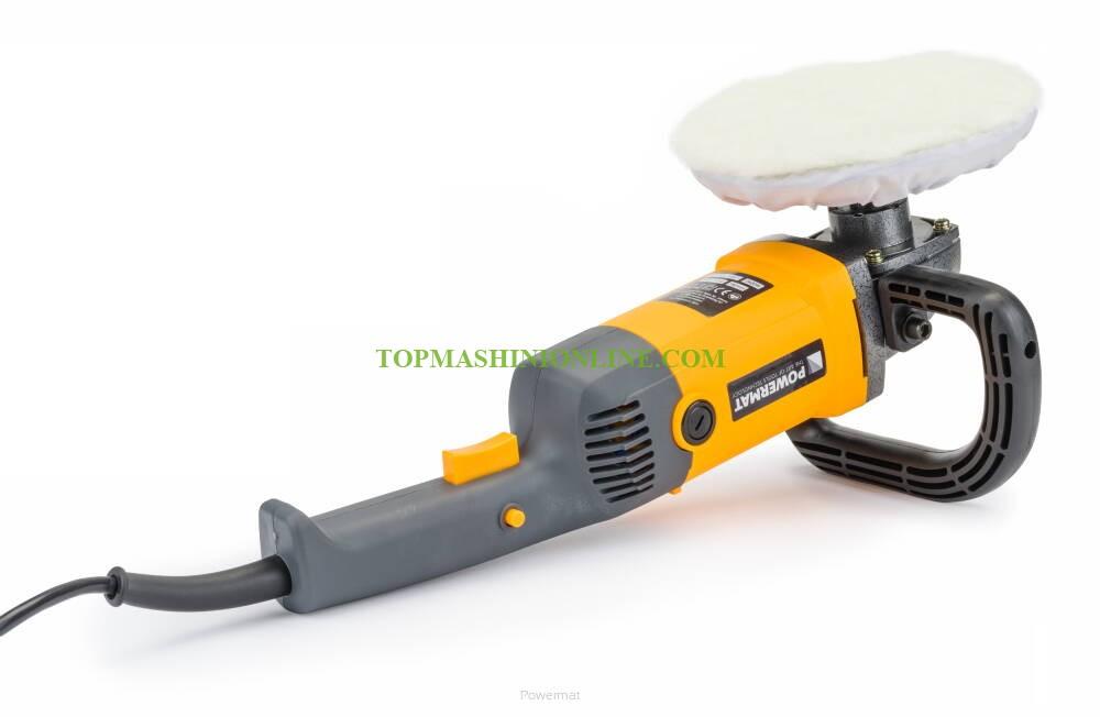 Електрическа полирмашина Powermat PM-PS-2600T с мощност 2600 W, диск Ø 180 мм, обороти 800-3200 мин-¹ image