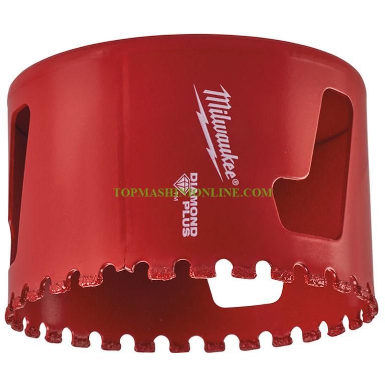 "Диамантена боркорона за керамика и гранитогрес с диаметър 68 Milwaukee Diamond Plus 49565664, 5/8"" x 18 image"