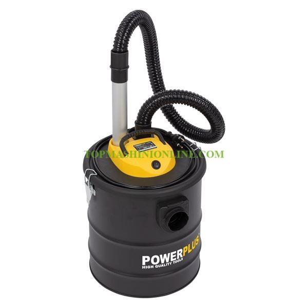 Прахосмукачка за пепел Power Plus POWX301 1200 W, 20 л с функция обдухване image