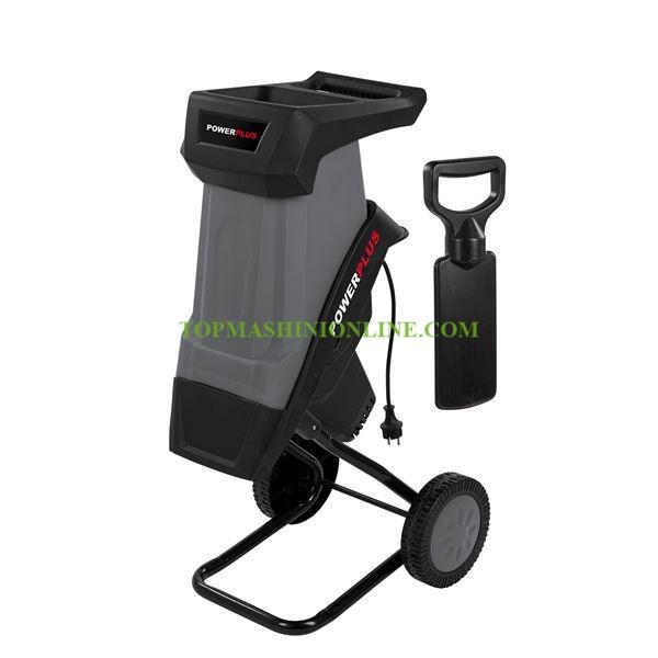 Електрическа дробилка за клони Power Plus POWEG5011 2400 W, Ø 40 мм image