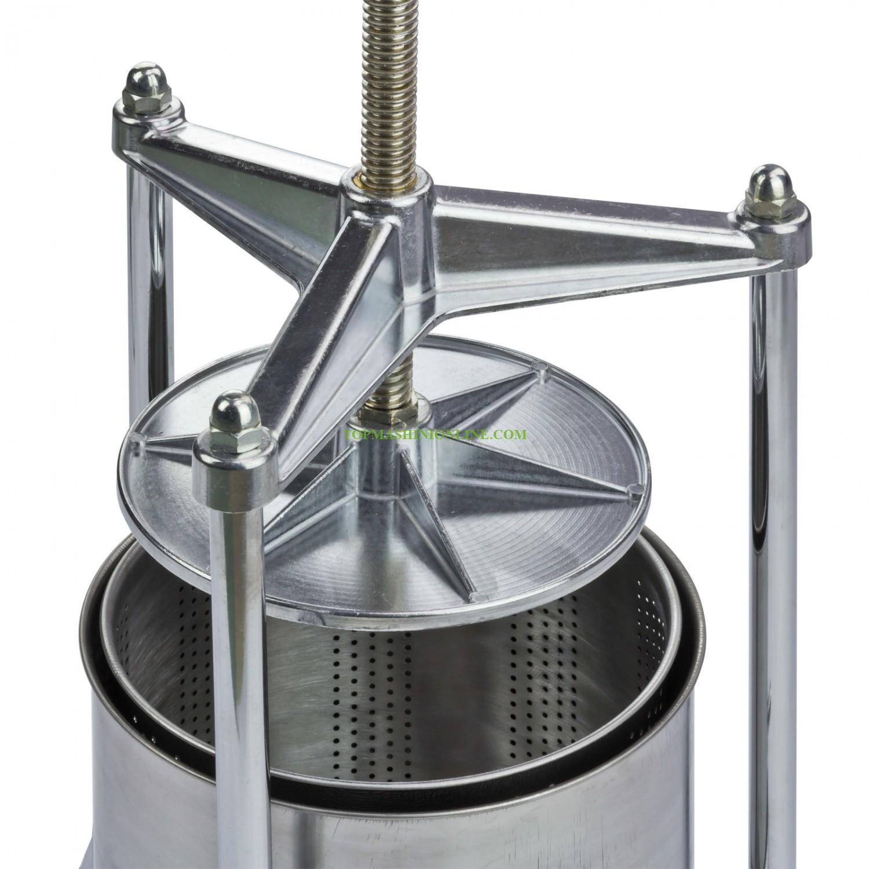 Ръчна преса за грозде-плодове 5 литра от неръждаема стомана Dema 30023 image